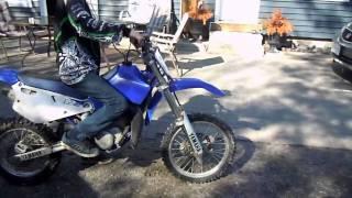 My friends new dirt-bike 01' yz 80