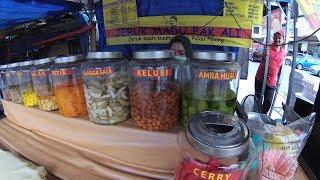 Malaysia Street Food 6 Jeruk Madu Pak Ali Pulau Pinang Pasar Chow Kit Pasar Bot KL YDXJ0260