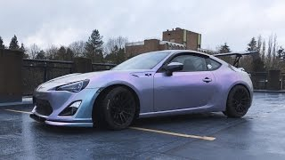 [TIME-LAPSE] FRS GOES FROM WHITE TO COLOUR SHIFTING PURPLE