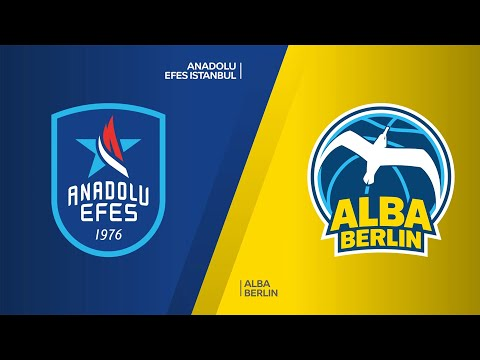 Anadou Efes Istanbul - ALBA Berlin Highlights | Turkish Airlines EuroLeague, RS Round 19