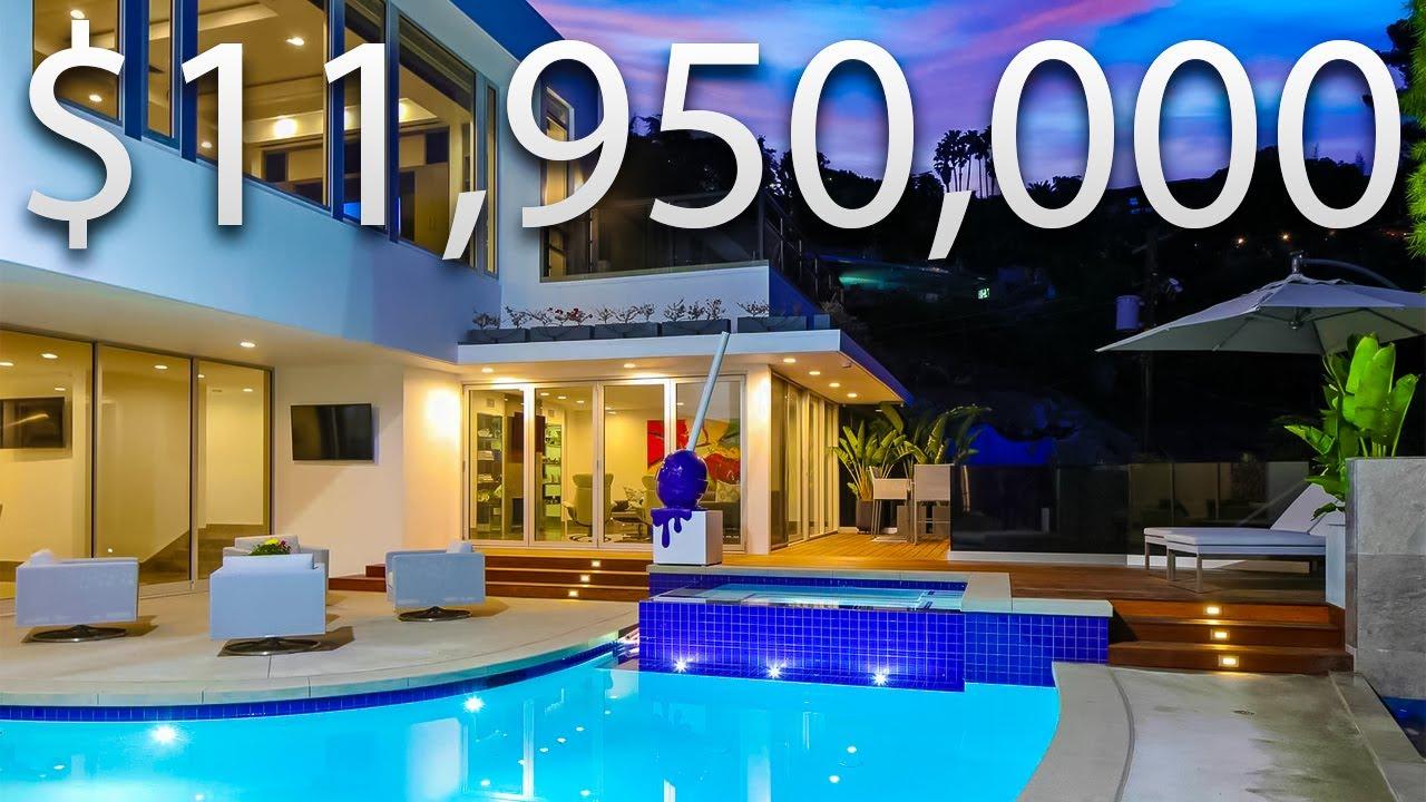 INSIDE A $11,950,000 ULTRA MODERN Beverly Hills MANSION | Mansion Tour