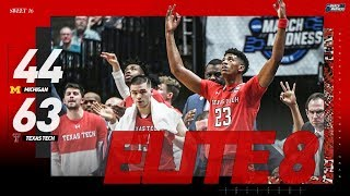 Texas Tech vs. Michigan: Sweet 16 NCAA tournament extended highlights