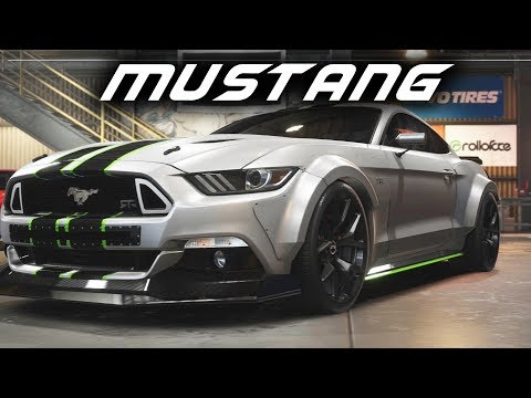 Need For Speed Payback - FORD MUSTANG BUILD - Re-creating The Heist Mustang