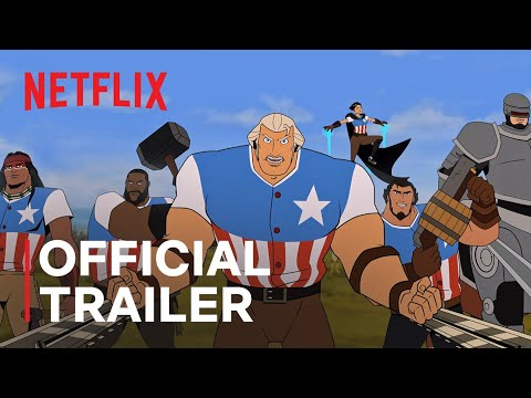 America: The Motion Picture | Channing Tatum | Official Trailer | Netflix