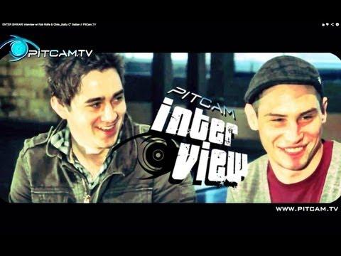 "ENTER SHIKARI Interview w/ Rob Rolfe & Chris ""Batty C"" Batten // PitCam.TV"