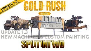 UPDATE 1.3 Beta   Gold rush the game. NEW TOYS!!!!!!!!