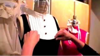 How-to Make a Tuxedo Bib, Threadbanger