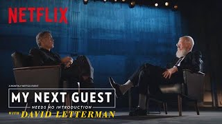 SWOON ALERT: George Clooney Gushes Over Amal | My Next Guest Needs No Introduction | Netflix