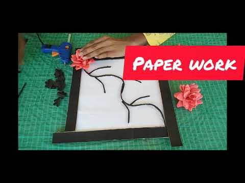 How to make a flower  frame🍁 🌼🍁🌼🍁🌼💐