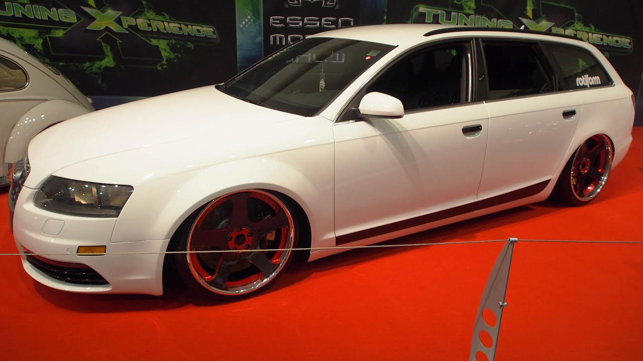 audi a6 4f quattro tuning r20 at essen motorshow. Black Bedroom Furniture Sets. Home Design Ideas