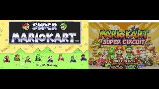 Let's Play Super Mario Kart Super Circuit Ep 6 - Extra Mushroom Cup - 5 Videos, 2 Let's Plays