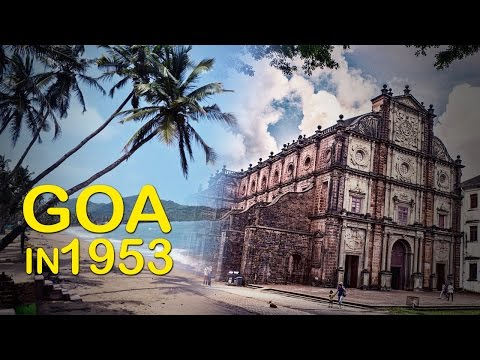 Short Documentary Film l Goa In 1953s Rare Video