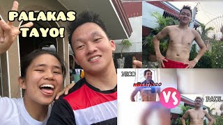 TRYING OUT THE NEW FITNESS APP + Abs challenge | Paul Pantig