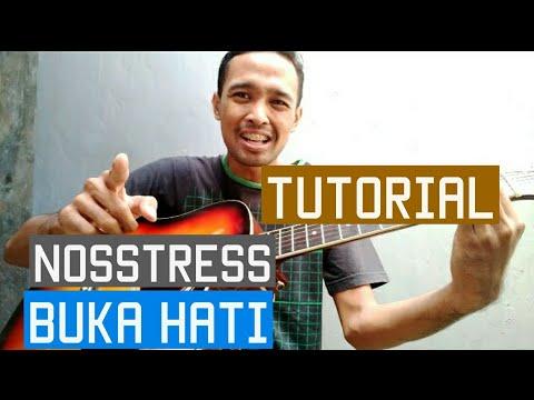 Tutorial Gitar Nosstress - Buka Hati