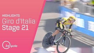 Giro d'Italia 2019 | Stage 21 Highlights | inCycle