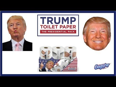 Trump Toilet Paper - The Presidential Pack