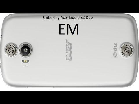 Acer Liquid E2 Duo Unboxing ita da EsperienzaMobile