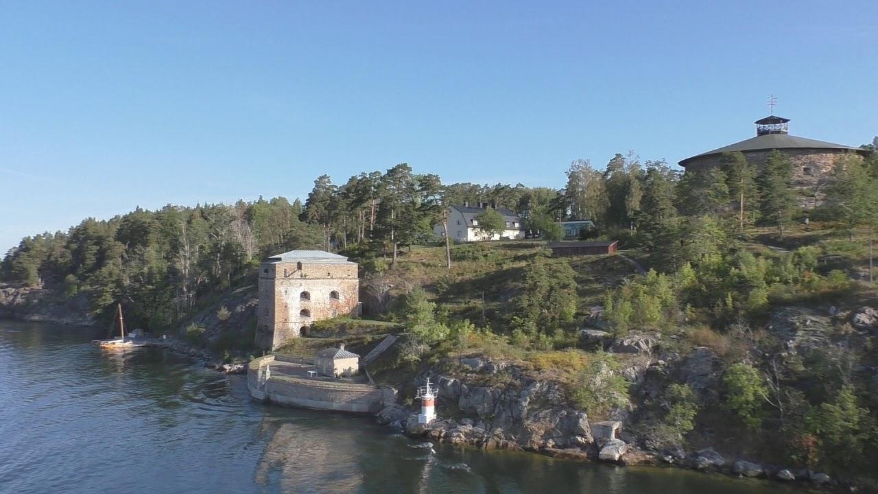 Прибытие в Стокгольм