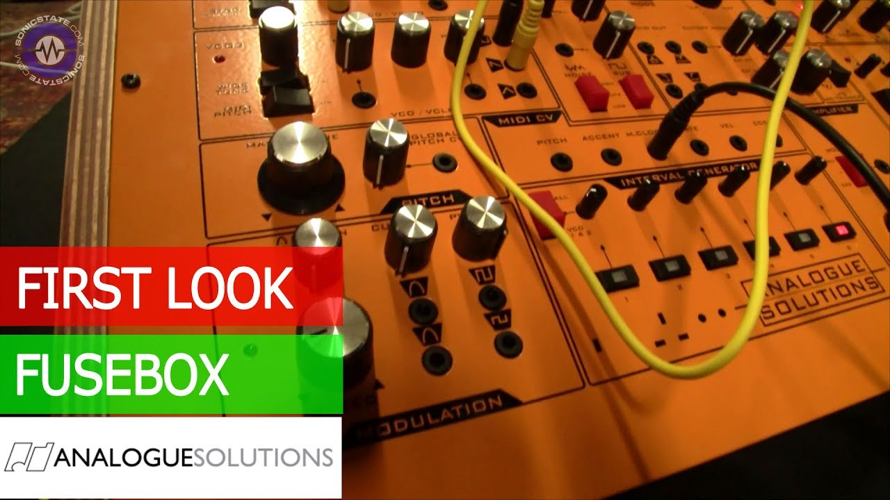 Analogue Solutions Fusebox First Look Youtube Audio Fuse Box