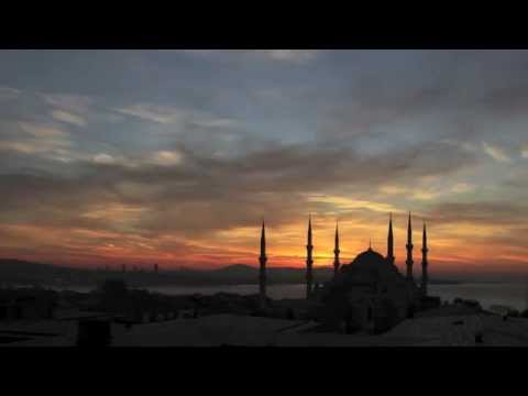 Sunrise Time Lapse 'Blue Mosque In Istanbul, Turkey'