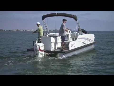 Larson Escape RT Fish Series Pontoon Boats