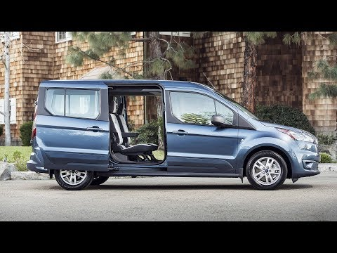 Ford Transit Connect Wagon Has More Tech, New Diesel Engine