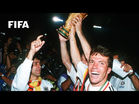 The Last Time Germany Beat Argentina in the Final