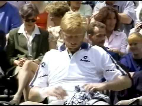 Rafter vs Becker  4th round Wimbledon 1999
