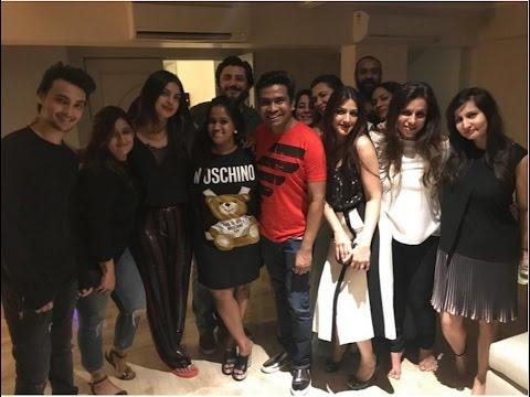 Priyanka Chopra throws a GRAND PARTY after returning to Mumbai   VIDEO