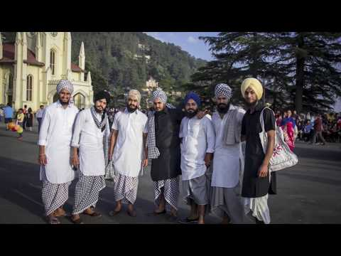 Punjabi Boys on Mall Road Shimla