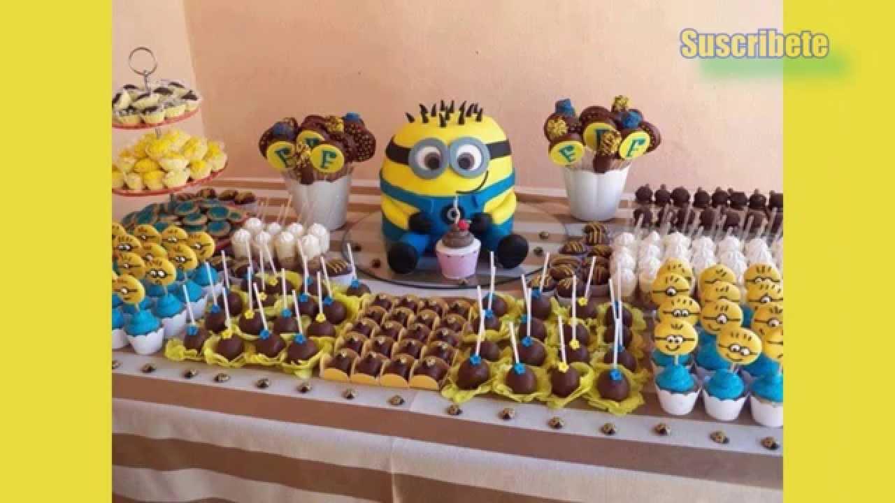 Las mejores ideas de como decorar tu fiesta de los minions - Decorar mesas para fiestas ...