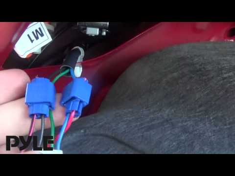 Pyle PLCMDVR42 - Setup and Installation Tutorial - Car DVR Front and Rearview Camera