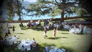 Lake Shasta Wedding - 3DR Solo Drone