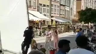 Leaked! Thalapathy 61 Shooting Spot Leaked Video | Vijay and Kajal Aggarwal Dancing