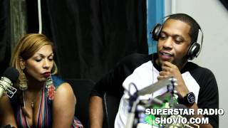 STORM P TALKS ABOUT WORKING WITH QUEEN LATIFAH