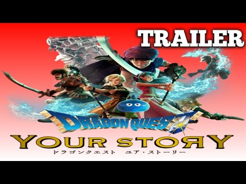 Jrpg News Dragon Quest V Movie Remake Revealed Debut Trailer First Look Release Details And More Youtube
