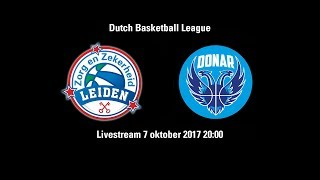 Zorg en Zekerheid Leiden - Donar Groningen (7 okt. 2017)