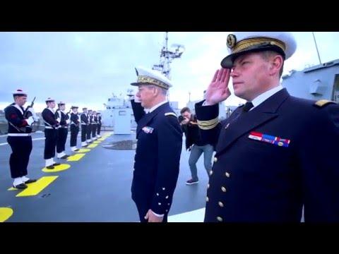 La Marine Nationale réceptionne la Fremm Languedoc