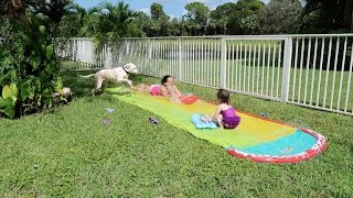 Slip and Slide Fail and Fun