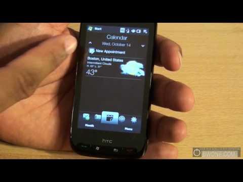 Verizon HTC Touch Pro 2 Software Tour / Review - BWOne.com