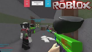 BEST PAINTBALL PLAYER EVER! PAINTBALL FRENZY IN ROBLOX!
