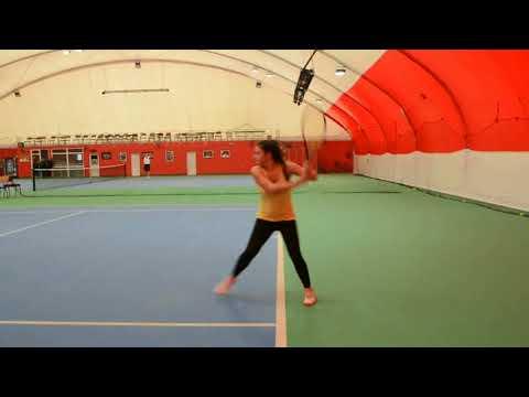 Sara Djinovic - College Tennis Recruiting Video Fall 2018