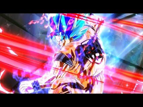 I Made Blue Evolution Kaioken X20 Goku In Dragon Ball Xenoverse 2