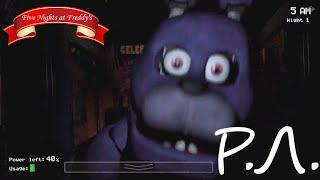 """""""Реакции Летсплейщиков"""" на Первую Смерть от Зайца из Five Nights At Freddy's"""