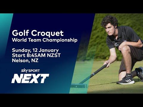World Team Championships - Finals| Golf Croquet | Sky ...