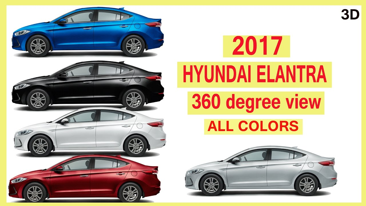 Hyundai elantra colors 2017