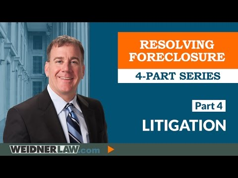 ►Foreclosure Defense: Part 4 - Litigation