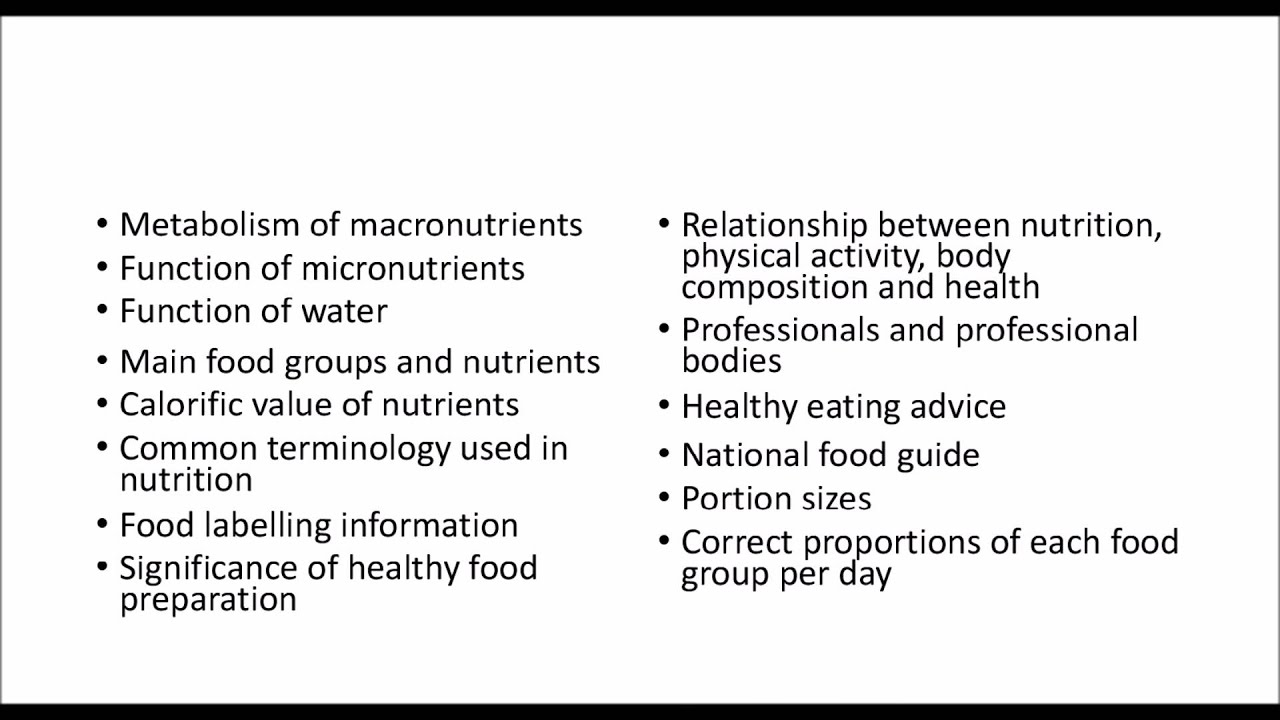 nutrition case study questions