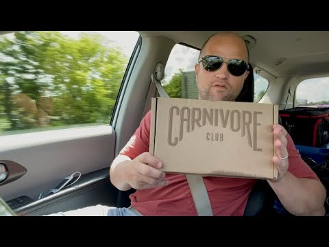 Meat Box Review - Carnivore Club Road Trip - Beef Jerky & Beef Sticks!