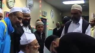Pir Syed Anees Haidar Shah Sahib Jalalpur Shareef visit to  Nelson Lancashire UK Part 4]